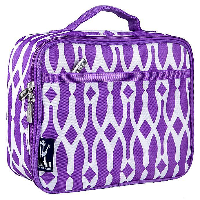 Alternate image 1 for Wildkin Wishbone Lunch Box in Purple