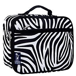Olive Kids Zebra Lunch Box in Black