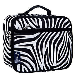 Olive Kids Zebra Lunch Box in Black