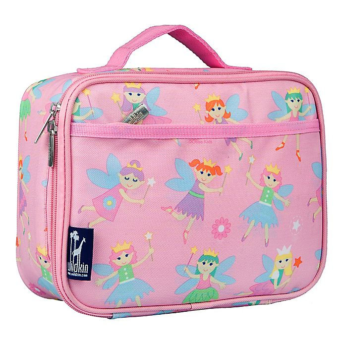 Alternate image 1 for Olive Kids Fairy Princess Insulated Fabric Lunch Box
