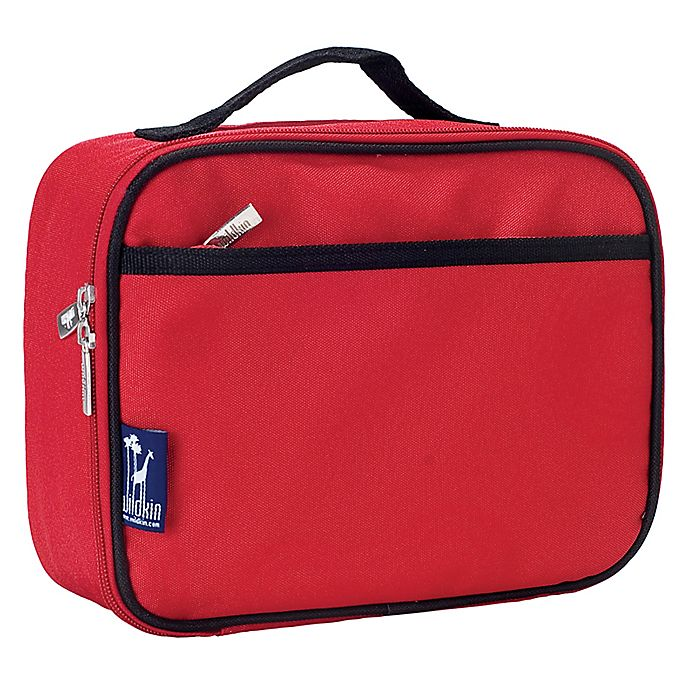 Alternate image 1 for Wildkin Insulated Fabric Lunch Box in Cardinal Red