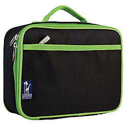 Wildkin Rip-Stop Lunch Box in Black/Green