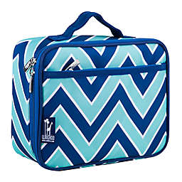 Wildkin Zigzag Lucite Insulated Fabric Lunch Box in Green