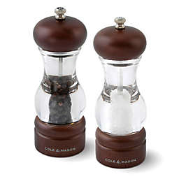 Cole & Mason 105 Forest Salt and Pepper Mill Gift Set with Refills