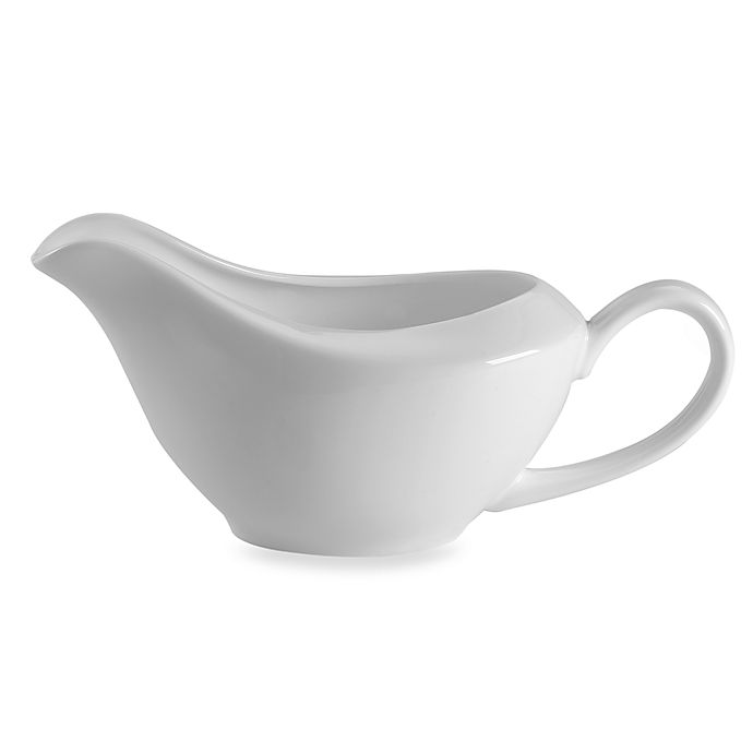 Alternate image 1 for Nevaeh White® by Fitz and Floyd® Gravy Boat