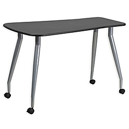 Flash Furniture Mobile Computer Desk in Black