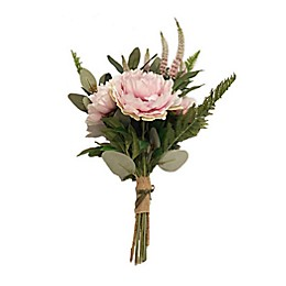 New York Botanical Garden® Bernadette Large Faux Peony Bouquet in Pink