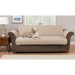 Pawslife® Reversible Plush Quilt Sofa Furniture Cover