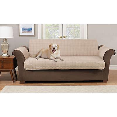Pawslife™ Reversible Plush Quilt Sofa Furniture Cover