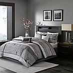Madison Park Rhapsody 7-Piece Queen Comforter Set in Grey