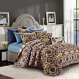 Ridgewood 9-Piece Reversible Quilt Set