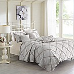 Madison Park Rosie Full/Queen Coverlet Set in Grey