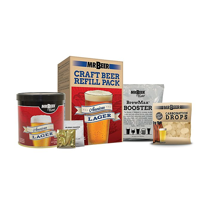 Alternate image 1 for Mr. Beer American Lager Refill Kit