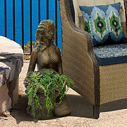 Bombay® Outdoor Miranda Planter in Gold