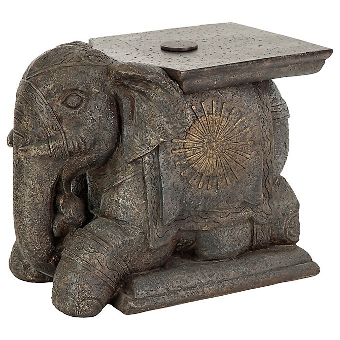 Bombay 174 Outdoor Elephant Umbrella Base And Table Bed