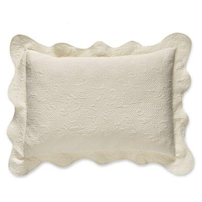 Lyon Matelass 233 Standard Pillow Sham Bed Bath And Beyond