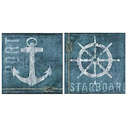 Thirstystone® Coastal Port & Starboard Coasters (Set of 4)