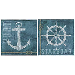 Thirstystone® Coastal Port & Starboard Coasters (Set of 4)