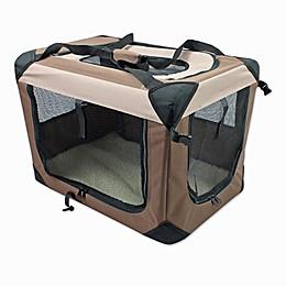 Multi-Purpose Pet Soft Crate in Coffee