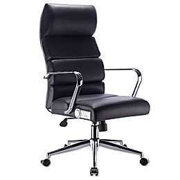 X Rocker Deluxe Executive Office Chair with Sound in Black/Chrome