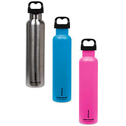 FIFTY/FIFTY Double-Wall Vacuum-Insulated 18 oz. Water Bottle with Wide Mouth