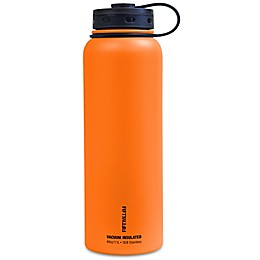 FIFTY/FIFTY Double-Wall Vacuum-Insulated 40 oz. Water Bottle with Wide Mouth