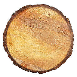 Thirstystone® Round Mango Wood Stump Individual Coaster