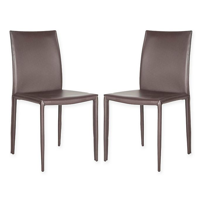 Safavieh Karna Dining Chair: Buy Safavieh Karna Dining Chairs In Light Grey (Set Of 2