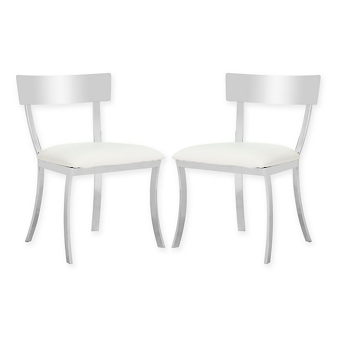 Alternate image 1 for Safavieh Abby Fox Side Chairs (Set of 2)