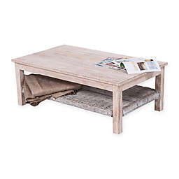 Safavieh Minerva Coffee Table in White