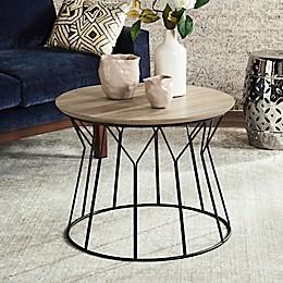 Safavieh Alcott End Table in Light Grey