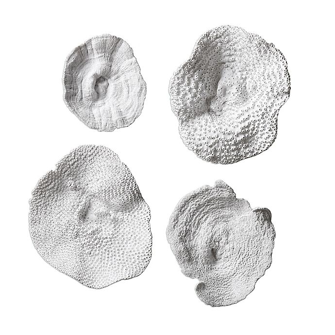 Alternate image 1 for Uttermost Sea Coral Wall Art (Set of 4)