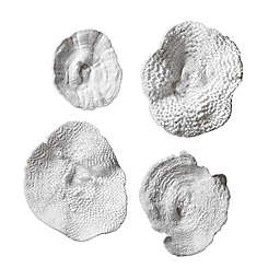 Uttermost Sea Coral 15.5-Inch x 13.5-Inch Wall Art (Set of 4)