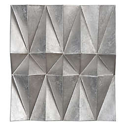 Uttermost Maxton Multi-Faceted 20-Inch x 22-Inch Panel Wall Art (Set of 3)
