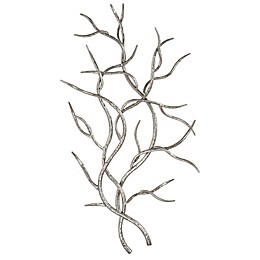 Uttermost Silver Branches Wall Art (Set of 2)