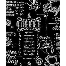 Graham & Brown Coffee Shop Wallpaper in Black/White