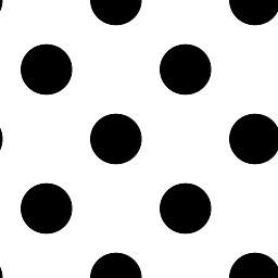 Graham & Brown Dotty Wallpaper in Black/White