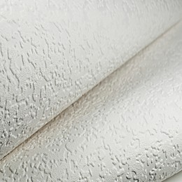 Graham & Brown Heavy Stipple Paintable Wallpaper in White