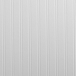 Graham & Brown Beadboard Pre-Pasted Paintable Wallpaper in White