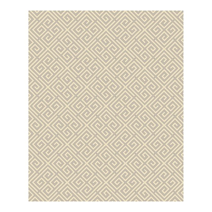 Alternate image 1 for A-street Prints Symetrie Omega Geometric Wallpaper in Taupe