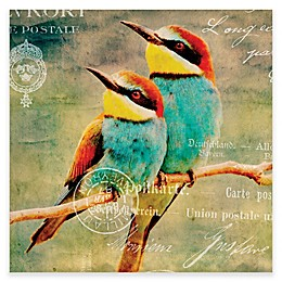 Kate And Laurel Perched Bee Eaters Canvas Wall Art