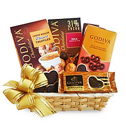 California Delicious A Gift Of Godiva Gift Basket