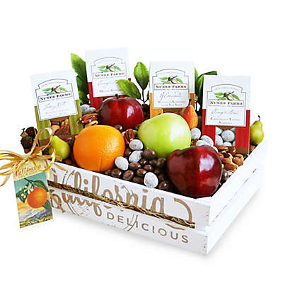 California Delicious Fruit and Nuts Gift Crate