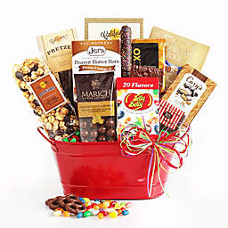 California Delicious Sweet Celebrations Bucket of Candy Gift Basket