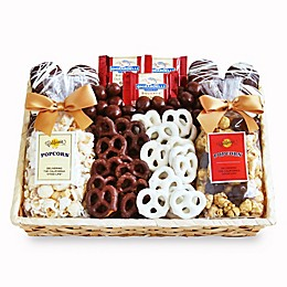 California Delicious Crunch Time Sweet Snacks Gift Basket