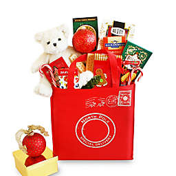 California Delicious North Pole Special Delivery Holiday Gift Tote
