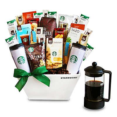 California Delicious Ultimate Starbucks Coffee Lover's Gift Basket