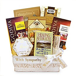 California Delicious Healing & Hope Sympathy Gift Basket