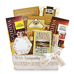 California Delicious Healing & Hope Sympathy Gift Basket
