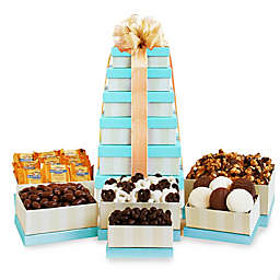 California Delicious Golden State Sweets Gift Tower